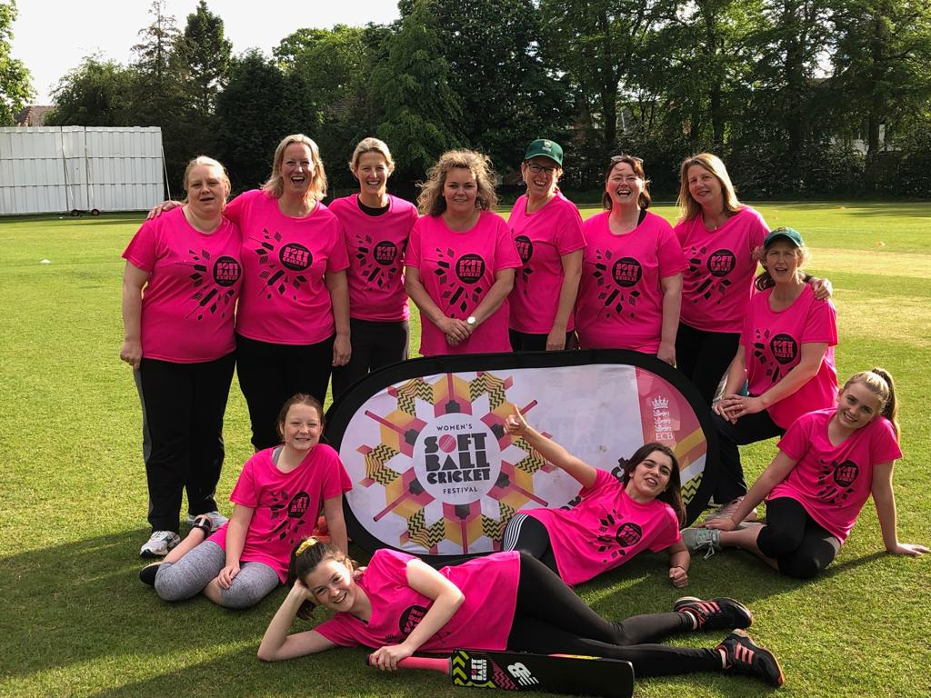 Jets Ladies Take On Romiley Soft Ball Festival