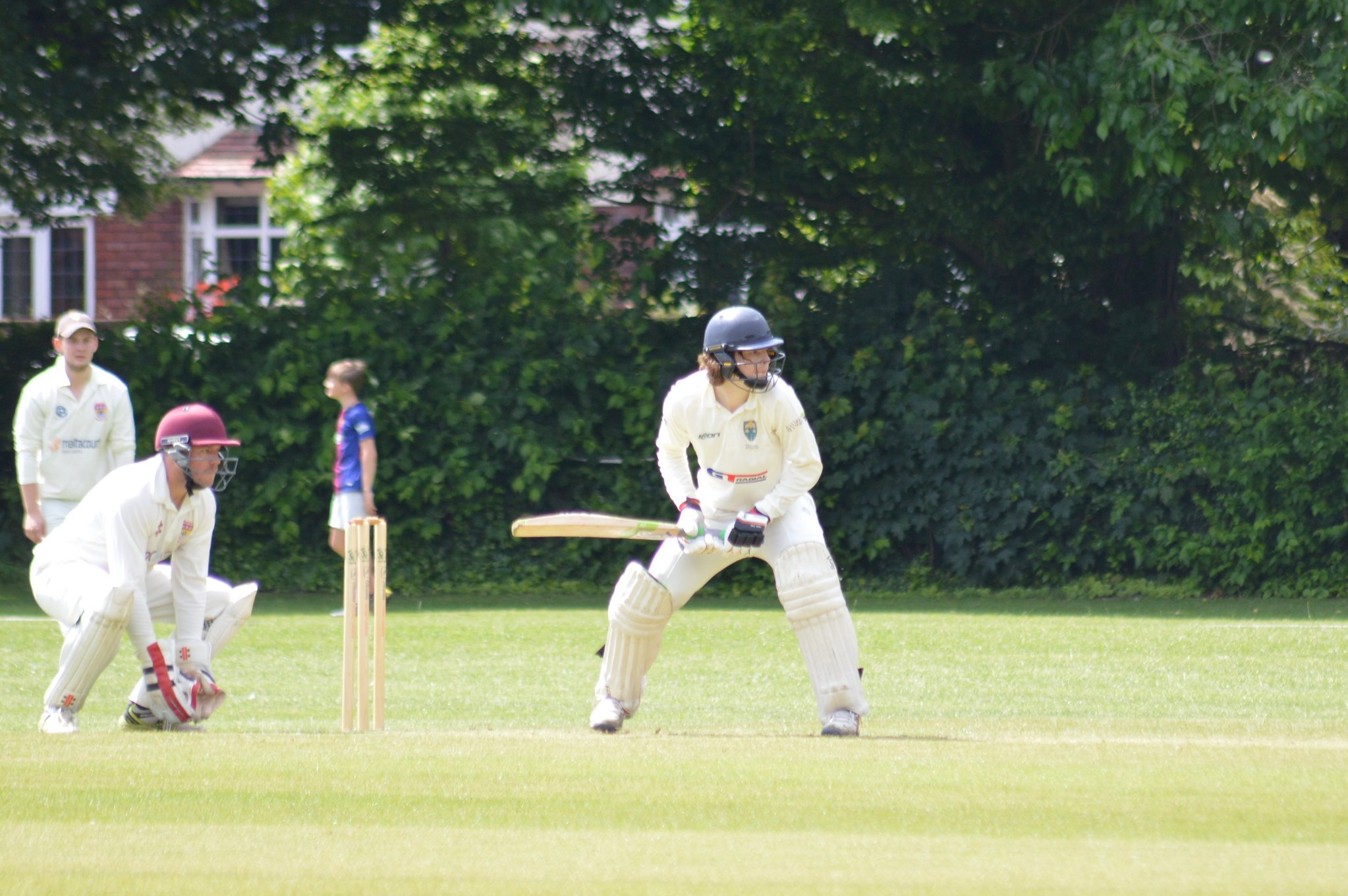 Dahlenburg Century Leads 1stXI to Victory at Port Sunlight