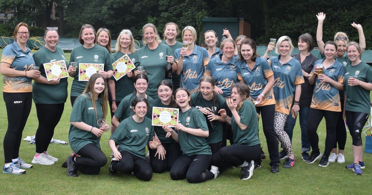 Jets Host First Women's Soft Ball Cricket Festival